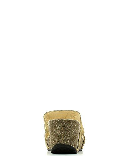Grunland Cio225 Wedge 50 Sabot Neuf Chaussures F. Beige