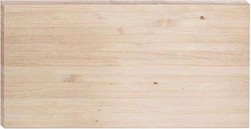ASTIGARRAGA KIT LINE ENC143.99, Encimera Madera Maciza, Beige, 140x70x3.6 cm