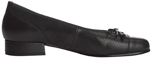 Gabor Emporium, Damen Ballerinas Schwarz (black Tejus/leather)