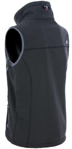 Trespass Elbrus Veste sans manches en tissu Softshell pour femme Noir - Noir