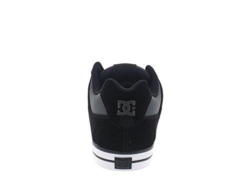 DC Shoes Pure Se, Baskets Basses Homme Noir - Black/Dk Grey