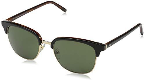 Montblanc MONT BLANC Herren Mb515S Sonnenbrille, Schwarz, 53