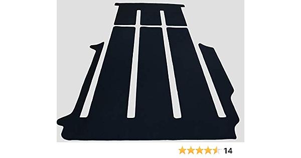 Autix 300056820569 Gastraum Kofferraum Teppich Fußmatte Velour Schwarz Passend Für Vw T6 California Beach Neu Auto