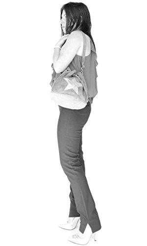 histoireDaccessoires - Borsa a tracolla Pelle Donna - SA099014GR-Vasco NeroNero Aclaramiento De 2018 Unisex Outlet De Venta Aclaramiento De Baja Tarifa De Envío Venta Precio Increíble En Línea 6Y6WOAil