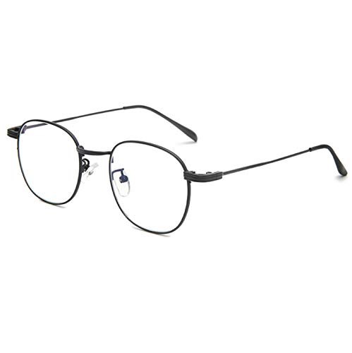 Transparent Frame Semi-metal Teen Frame Glasses Can Be Equipped With Myopia Anti-blue Light B