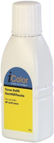 Preisvergleich Produktbild iColor Toner-Refill Nachfüllflasche (schwarz) 100 g