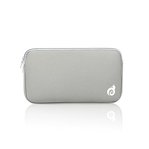 tur Cover Ultra Dünn Schutz Haut für US Layout Apple Wireless Bluetooth Tastatur mc184ll/B (A1314) Case- Neoprene - Grey Sleeve ()