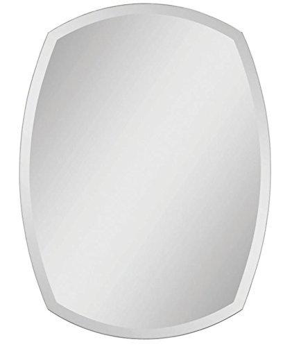 Quality Glass Premium Quality Frameless Decorative Mirror | Mirror Glass For Wall | Mirror For Bathrooms | Mirror In Home | Mirror Decor | Mirror Size : 18 Inch X 24 - B07F16BC33