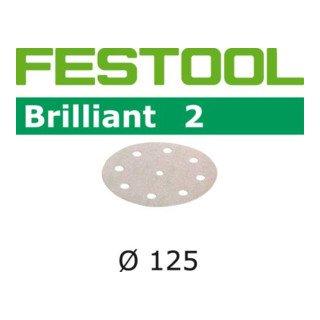 10x Festool Schleifscheiben STF D125/8 P120 BR2/10 Brilliant 2 - 82313670x10