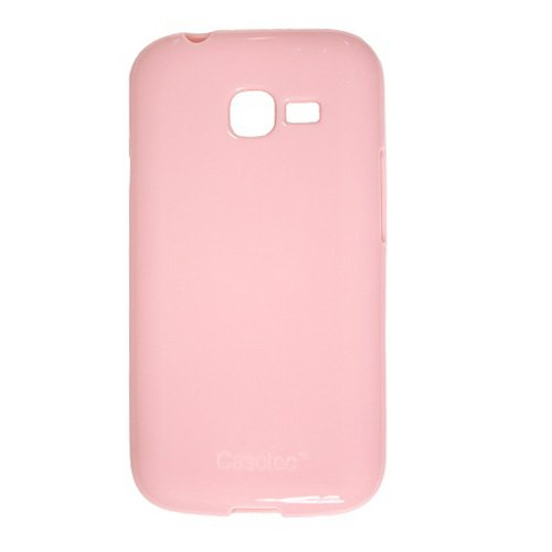 Casotec Soft TPU Back Case Cover for Samsung Galaxy Star Pro S7262 - Baby Pink  available at amazon for Rs.229
