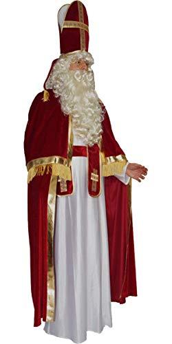 MAYLYNN Kostüm Bischof Nikolaus Weihnachtsmann, Größe:XL