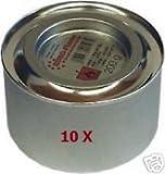 10 x Sicherheitsbrennpaste x200g Chafing Dish Brennpaste für Warmhaltebehälter -