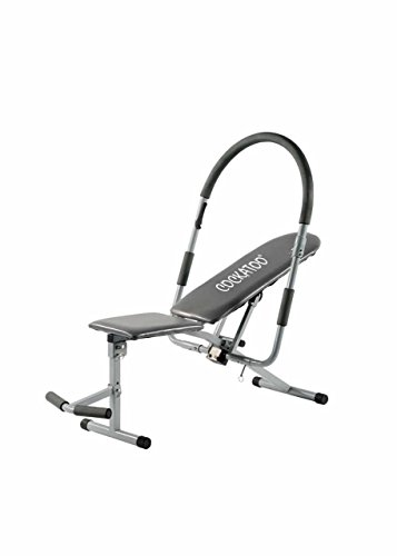 Krazy Fitness Ab-King Pro*Adjustable Resistance 200 Degree Rotation Ab King Pro; Ab Exerciser; Ab Roller, Core & Abdominal Trainer (Complete Abdominal Workout at Home)