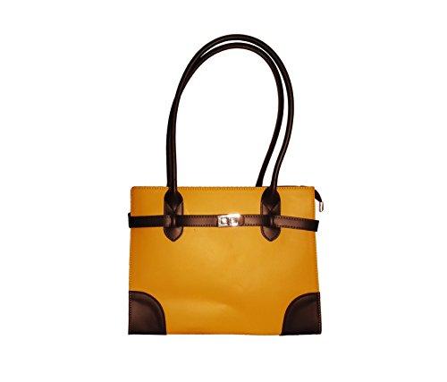 CatInBag , Sac pour femme à porter à l'épaule gialla