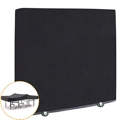 Minetom Tischtennisplatte Abdeckung Schutzhülle für Tischtennisplatte wasserdichte Tischtennisabdeckung| Oxford Gewebe | Universal passend 165 x 40 x 150 cm | mit Reißverschluss