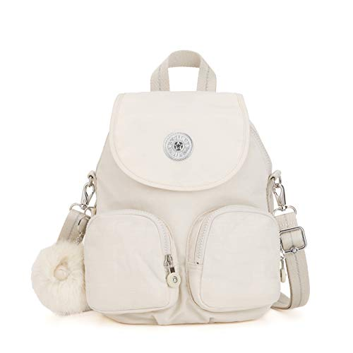 Kipling Firefly Up - Zaini Donna, Bianco (Dazz White)