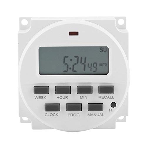 FTVOGUE 12 V DC/AC Interruptor programable Temporizador