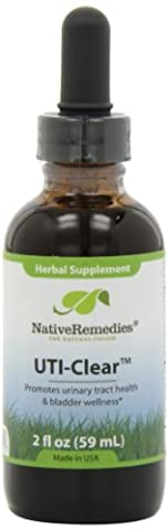 Native Remedies UTI001 UTI-Clear Tincture for UTI and Bladder Infections - 50ml