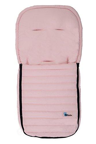 AltaBeBe AL2200M - 06 - Saco de abrigo de microfibra para coche, color rosa