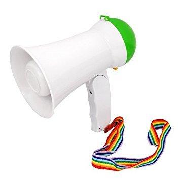 (Nalmatoionme tragbar, lauter Megaphon Lautsprecher mit Aufnahme (grün))