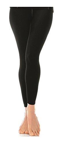 Gwinner Thermo-Funktionsunterwäsche Damen Leggings, lange Unterhose perfect für Winter - und Skisport, ANATOMY II, Schwarz-L (Kleidung Line Ski)