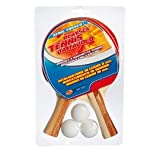 Rsta – Set tennis da tavolo RACCHETTE da ping pong 2pz .+3 PALLine 8319