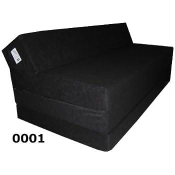beautissu matelas pliant d 39 appoint campix pouf pliable 120 x 195 cm confortable lit d. Black Bedroom Furniture Sets. Home Design Ideas
