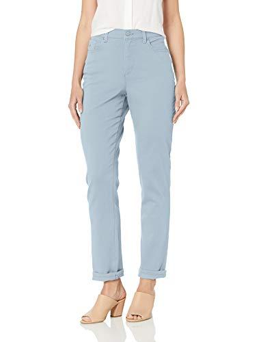 Gloria Vanderbilt Damen Amanda Classic Tapered Jeans, Celestial Blue, 40 Zierlich -