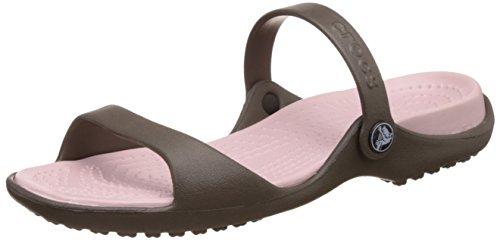 Crocs Cleo Donna Calzature, (Chocolate/Cotton Candy), 37.5 EU