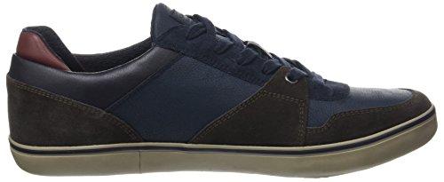 Geox Herren U Box A Sneaker Blau (DK COFFEE/Navy)