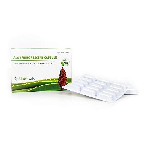 Aloe arborescens 100% capsule - Biologica - Italiana