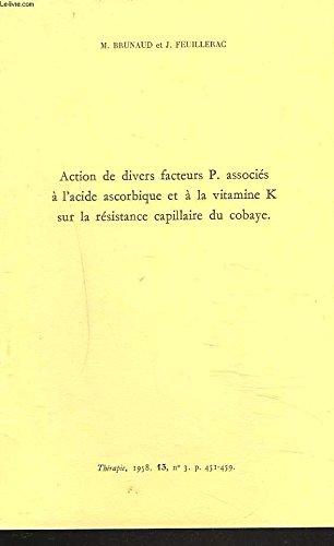 ACTION DE DIVERS FACTEURS P. ASSOCIES A ...