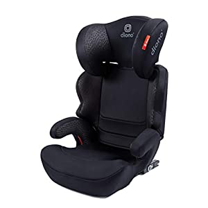 Diono Everett NXT Fix Highback Booster Seat - 7 Position Adjustable Headrest, Group 2/3 (15 - 36 kg and Up to 160 cm In Height), Approx. 4-12 Years, Black   6