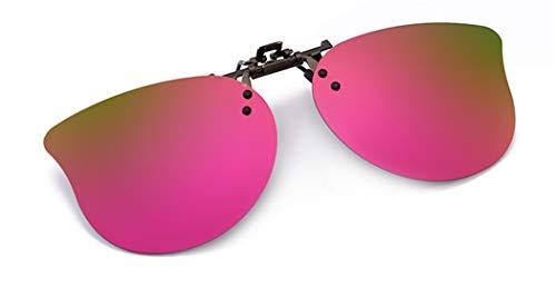 Flydo Polarisierte Sonnenbrille für Brillenträger Überzieh-Sonnenbrille für Clip Sonnenbrille Kinder/Herren/Damen Sonnenbrillen-Clip