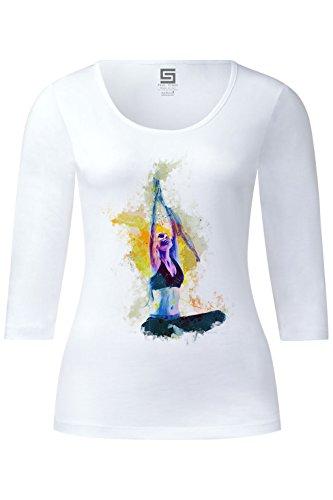 yoga-iv-ladies-3-4-arm-designer-shirt-sleeve-stretch-tee-long-sleeve