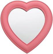IMIKEYA سطح المكتب ماكياج مرآة على شكل قلب مستحضرات التجميل مرآة مكتب الغرور ماكياج مرآة الجدار شنقا ماكياج مر