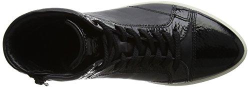 ECCO Gillian, Scarpe da Ginnastica Alte Donna Nero (Black/black)