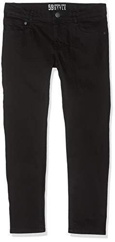 Lemmi Jungen Hose Boys Tight fit SUPER Big Jeans, Schwarz (Black Denim 0010), Herstellergröße: 134 Big Boy Jean