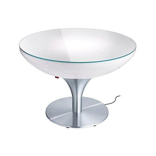 EEC A++, Moree Table basse Lounge 55 Outdoor - Avec éclairage
