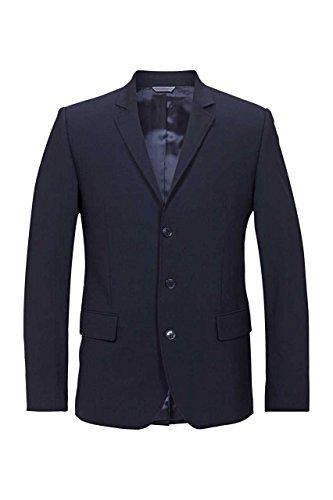 Gianfranco Ferre Herren Sakko Business Anzug, Kurzmantel, Blazer fürs Büro und den Alltag, Dunkelblau SLIM FIT, 54