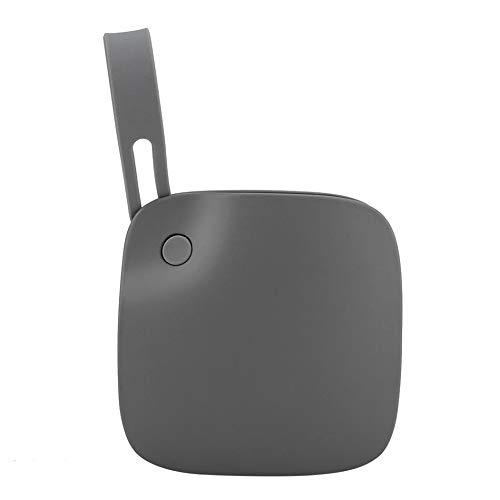 FOWYJ Tragbarer Explosionsgeschützte Handwärmer, USB Kleinen Tragbaren Elektrische Heizung Wasser Kostenlos Outdoor-Camping-Büro Schatz Lade,Grau -