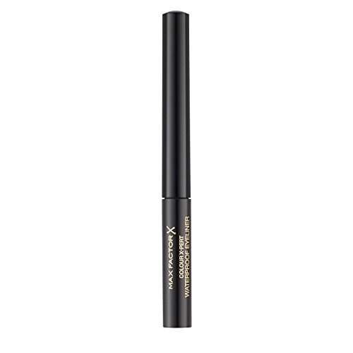 Max Factor Colour X-Pert Waterproof Eyeliner 01 Deep Black, 1er Pack (1 x 2 ml)