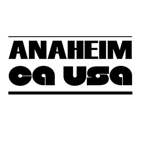 Anaheim Ca Usa Window Vinyl Decal Stickerfor Cars, Trucks, Windows, Walls, Laptops Anaheim Computer
