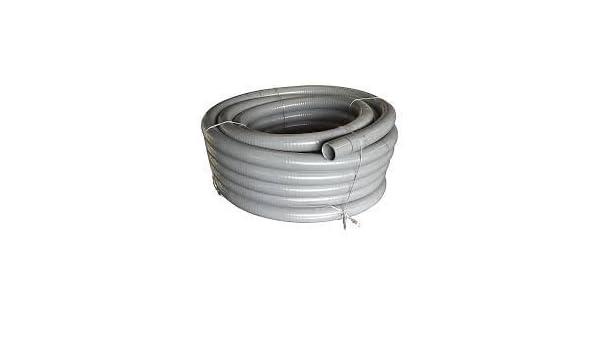 PVC Klebeschlauch Flexschlauch Spiralschlauch Schwimmbad Pool Teich Ø25mm 5m