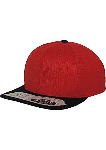 FLEXFIT casquette snapback fitted 110 (rouge/noir)