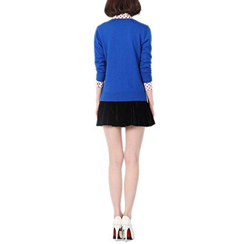 HIDOUYAL -  Cardigan  - Donna bleu klein
