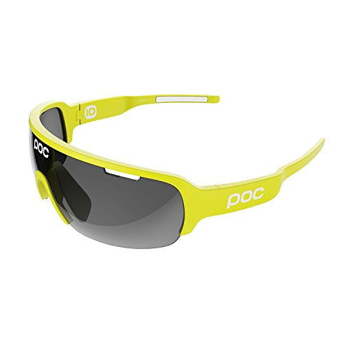 POC Do Half Blade Gafas de Sol, Unisex Adulto, Amarillo (Unobtanium Yellow), Talla Única