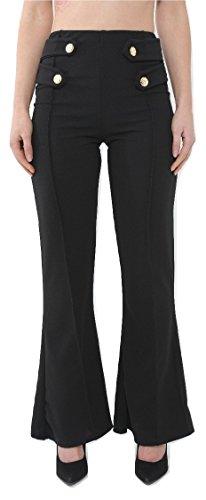 Momo&Ayat Fashions -  Pantaloni  - Pantaloni  - Donna Black