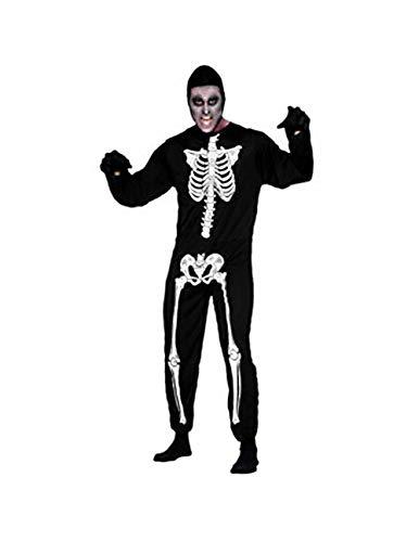 COIN Kleider Jumpsuit Halloween Kleidung Kostüm Cosplay Kostüm für Kinder Mädchen Erwachsene Damen Herren Partei Kleid Skelett Figurbetontes Baby Kleider 2-12 Jahre Schwarz