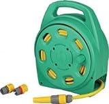 Gartenschlauch-Box Kunststoff komplett mit Wasserschlauch L 20 m, 13 mm (1/2?) inklusive Amaturen, bestehend aus: 1 x Spritze 2 x Schlauchstück 1 x Wasserstopp 1 x Hahnanschluss